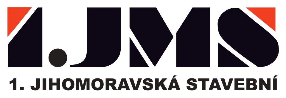 1. jihomoravská stavební logo