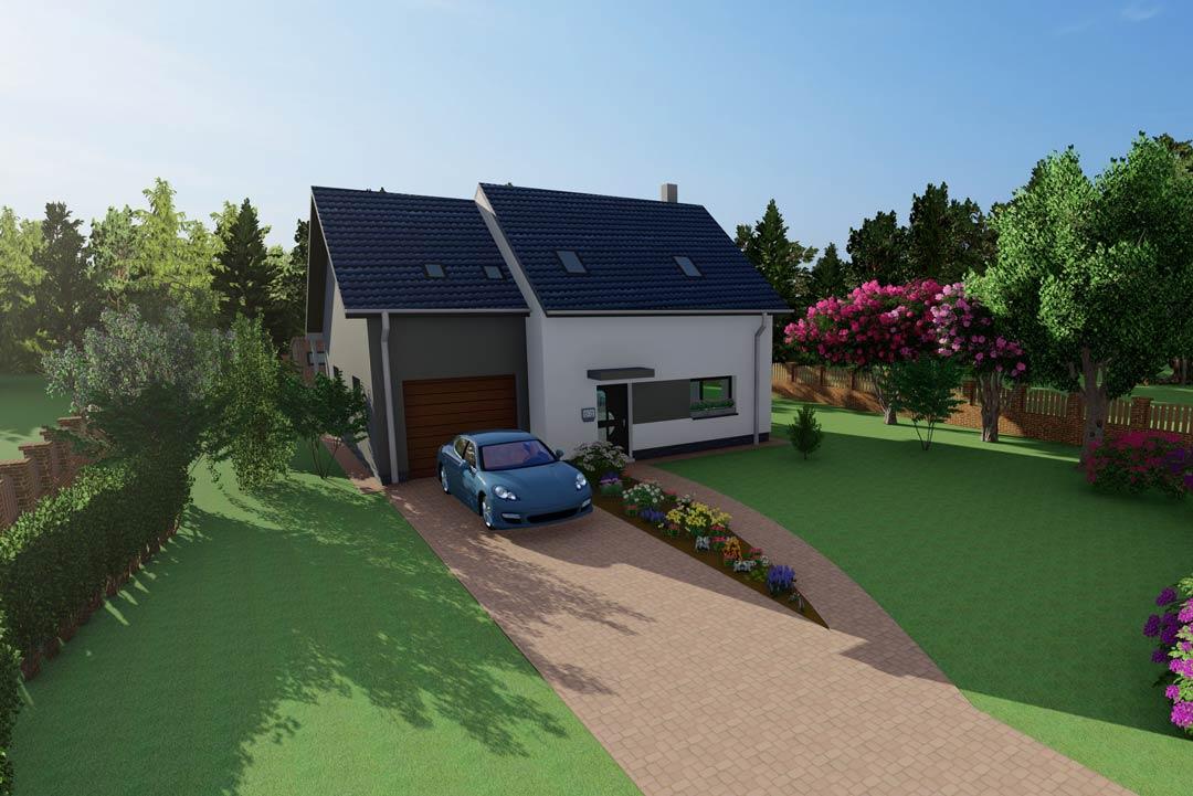 Stavba nízkoenergetického domu na klíč SMART
